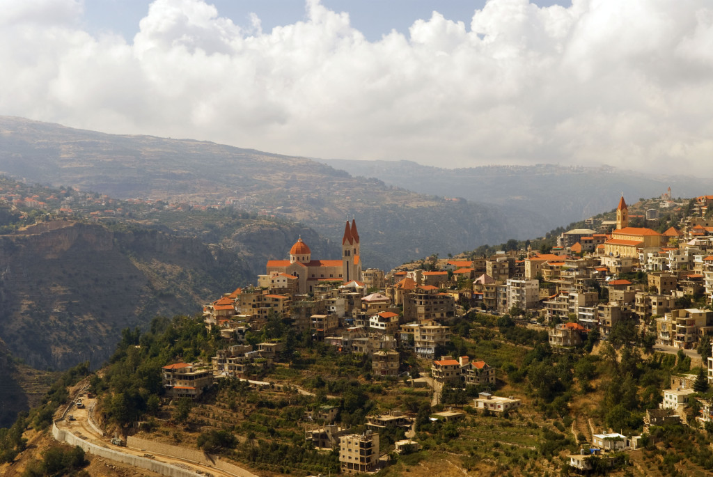 Bcharri, Qadisha Valley, northern Lebanon (Via)