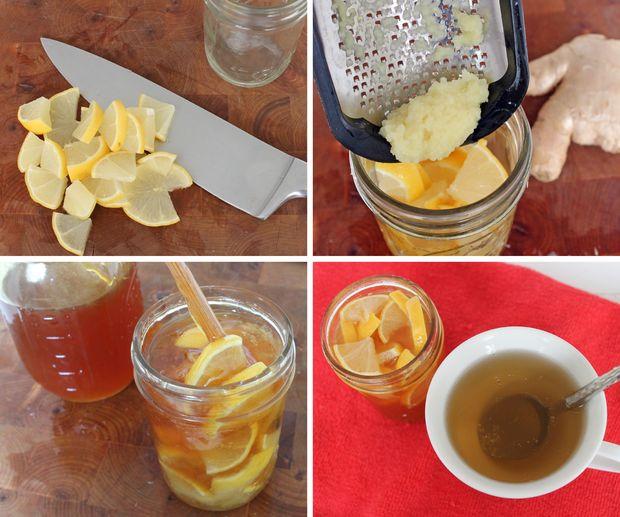 Имбирь мед и лимон от простуды