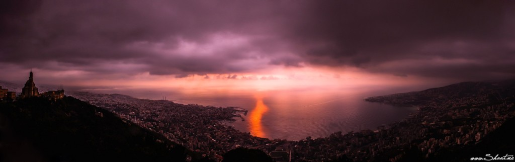 Mount Lebanon Panorama (Via)