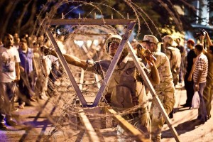 Fragmentation and division is the rule of the day in post-revolutionary Egypt. (Virginie Nguyen Hoang/AFP/Getty Images )