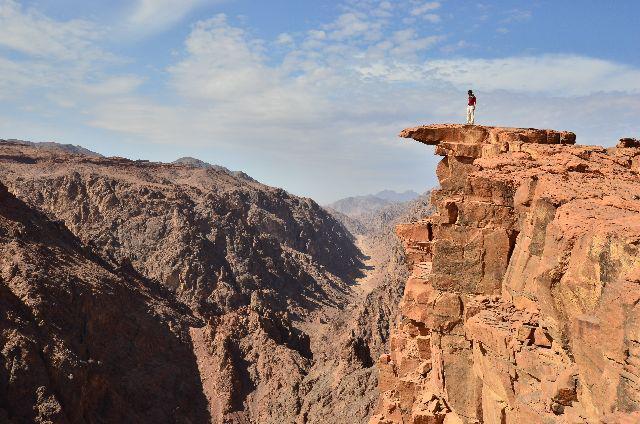 Great Gorge near Tabuk  (Via)