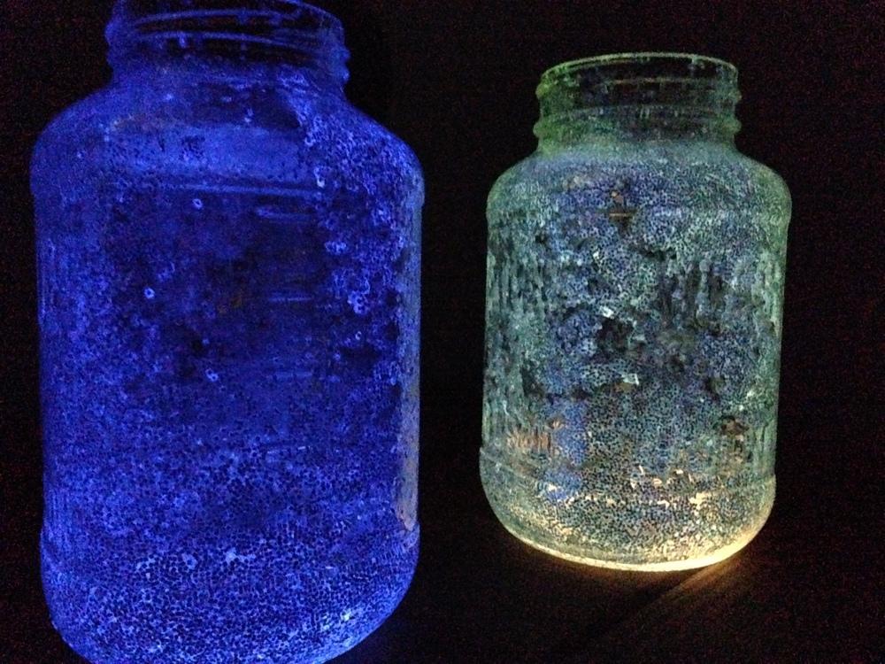 diy fireflies in a jar night lamp. Black Bedroom Furniture Sets. Home Design Ideas