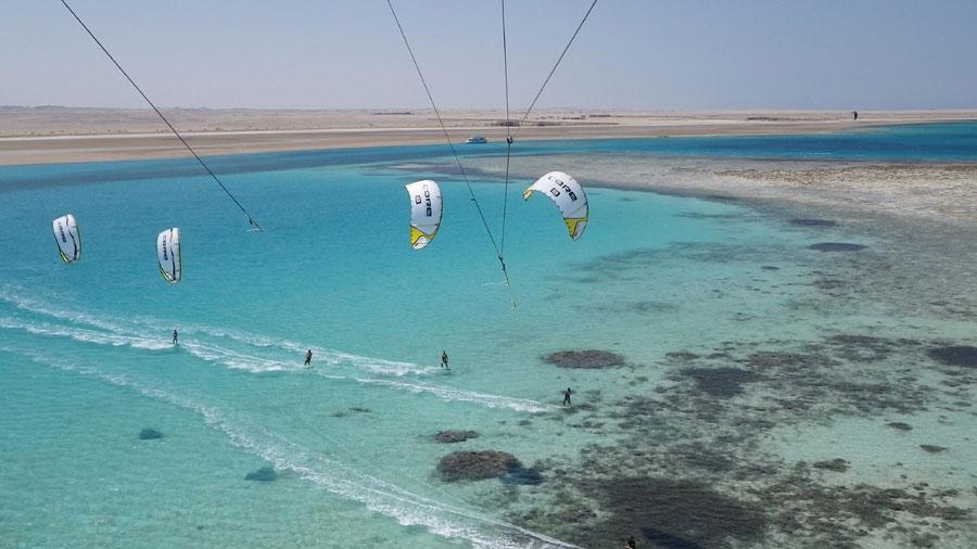 Kitesurfing in April and May - KiteWorldWide
