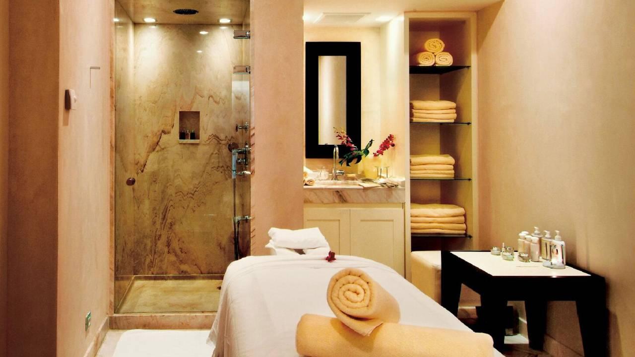 Dusit hotel sauna