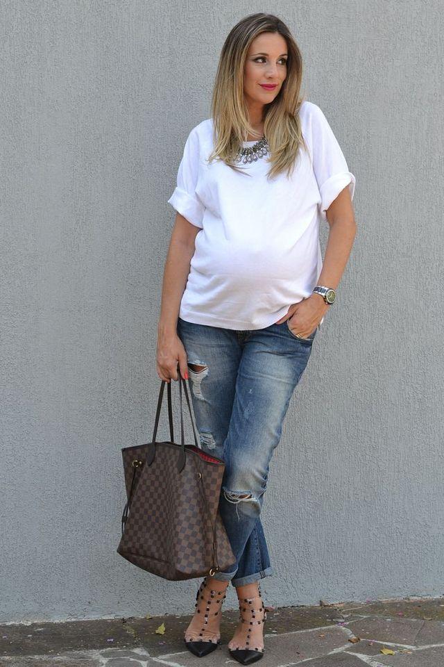 Как стильно выглядеть беременной летом