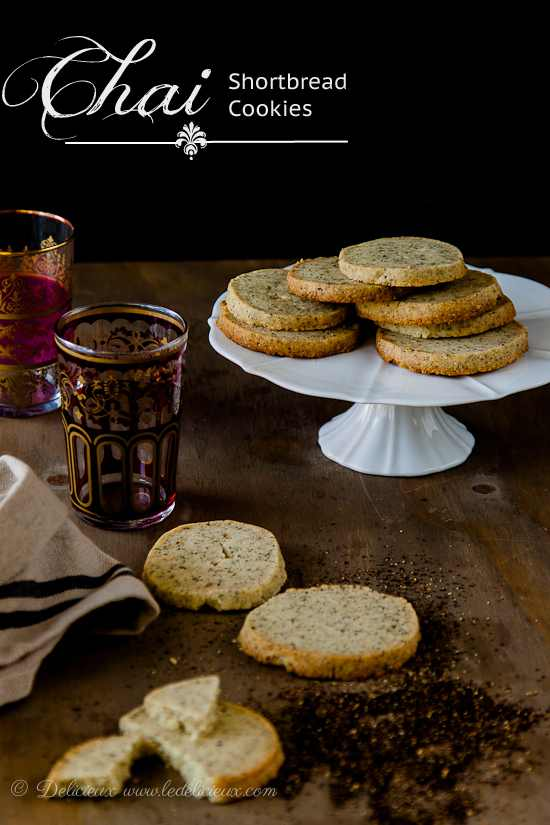 Chai-Shortbread-cookies-tea-cookies-recipe