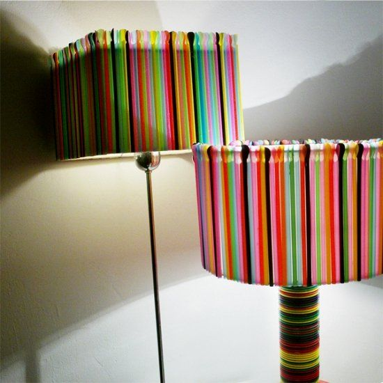 Diy 20 lampshades that will light up your life for How to make lamp shades using plastics