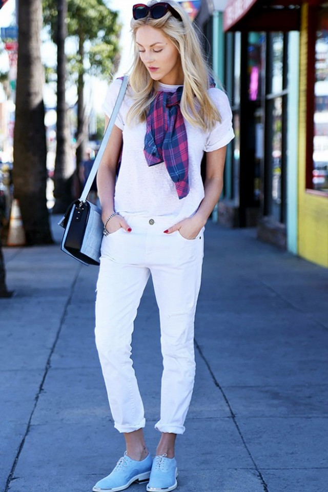 101 Different Ways to Wear a White T-Shirt