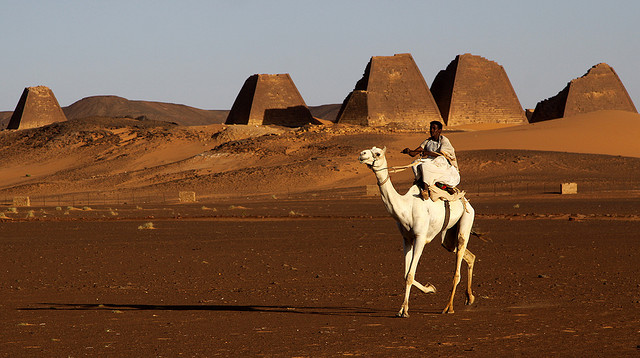 Meroe Pyramids (Via)