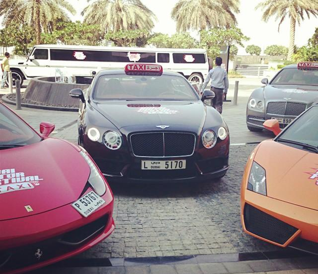 Supercar Taxis To Shuttle Dubai Residents In Style