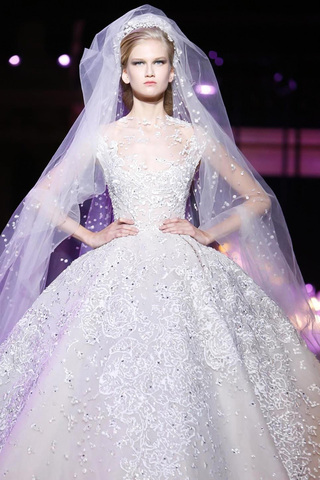 The Top Wedding Dress Designers in the Middle East