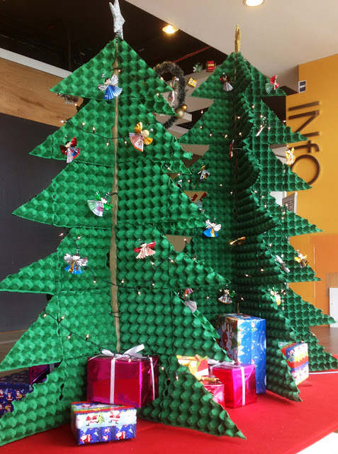 Diy Fabulous Christmas Trees Made Out Of Random Objects