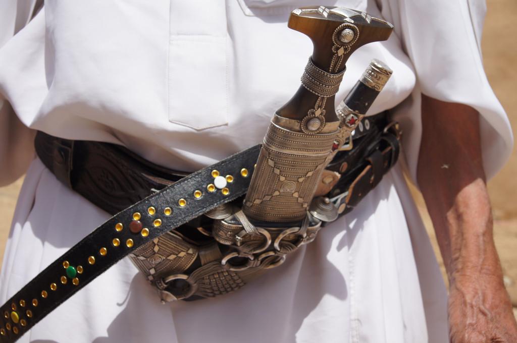 Traditiona Yemeni jambiyah knife (Charles Roffey/flickr)