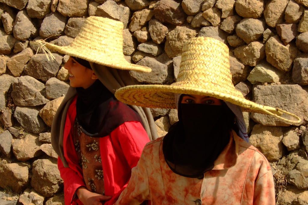 Yemeni girls (Will de Freitas/flickr)