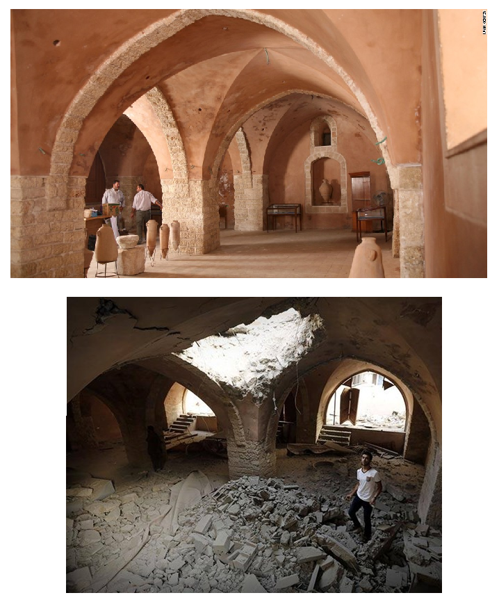 Before and After: Historical Sites Affected by War in the Middle East