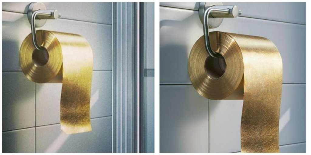toilet made of gold. 20 cool and crazy things made from gold  10 Everyday Items You Can Actually Get Made out of Gold