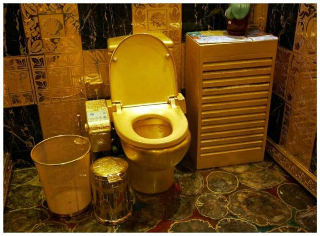 20 cool and crazy things made from gold 10 Everyday Items You Can Actually Get Made out of Gold. 24k Gold Toilet Paper. Home Design Ideas