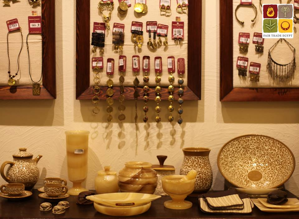 You will find a wide variety of items from home decoration to handbags and phone
