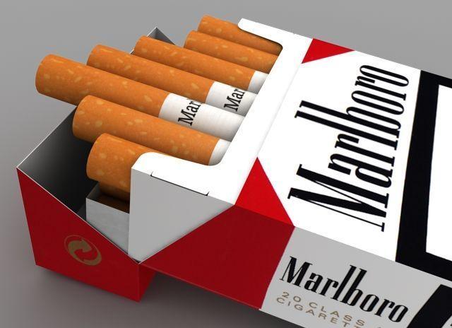 Pack-of-Marlboro-Cigarettes