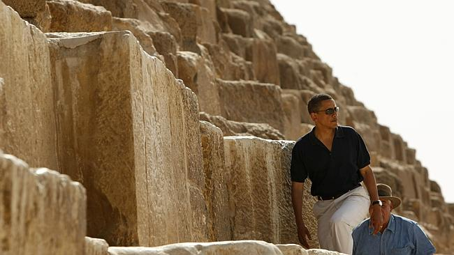 Barack Obama, Zahi Hawass