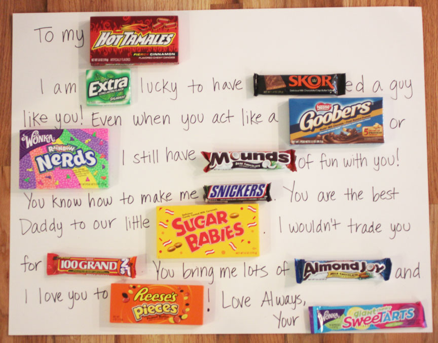 A Candy-Filled Message