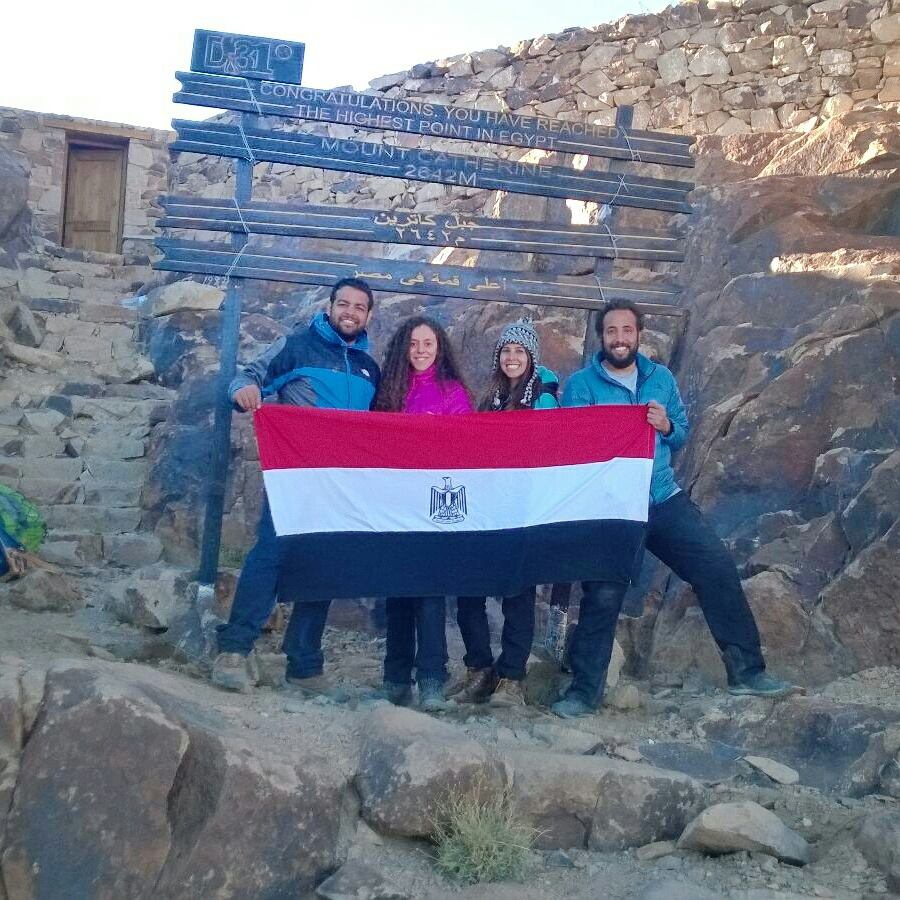 Egypt Gets Its First Summit Sign on Sinai's Mount Catherine