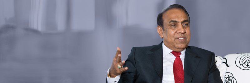 Mr. B. Ravi Pillai, Chairman and Managing Director of RP Group