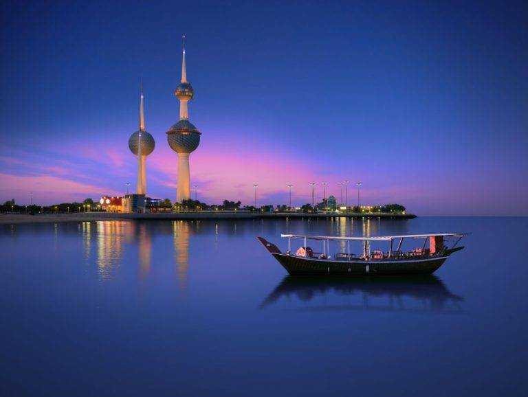 arabian-passenger-boat-during-blue-hour-next-to-kuwait-tower-