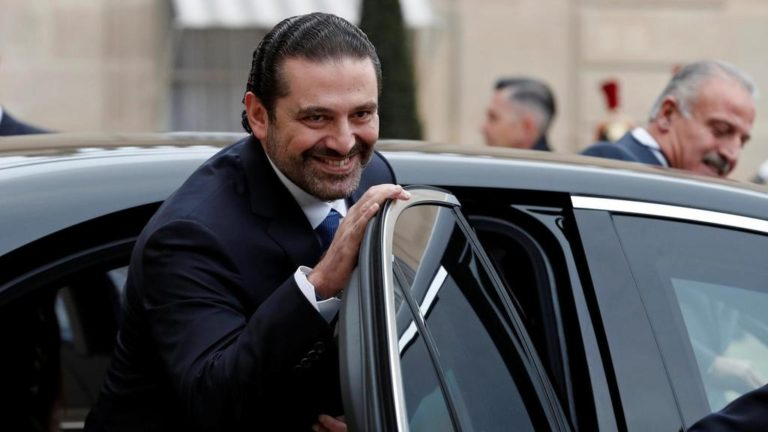 Saad-Hariri-who-announced-his-resignation-as-Lebanon-s-Prime-Minister-while-on-a-visit-to-Saudi-Arabia-leaves-a-meeting-with-French-president-Emmanuel-Macron-at-the-Elysee-Palace-in-Paris