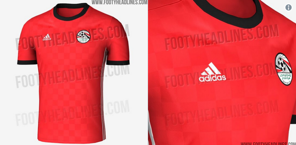 e14fcf598a8 Source: KingFut.com. Adidas has released images of Egypt's jersey for the  upcoming World Cup ...
