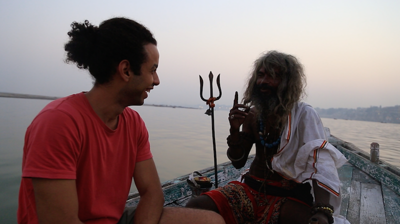 EXCLUSIVE: An Egyptian Filmmaker's Journey To Shed Light On The Aghori  'Cannibal' Tribe of India