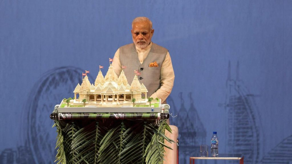 Foundation Stone For First Hindu Temple In Abu Dhabi To Arrive From India