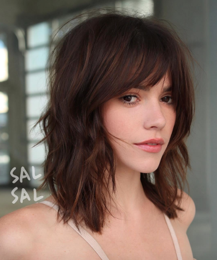Amp Up Your Hotness With These Shoulder Length Haircuts For Women