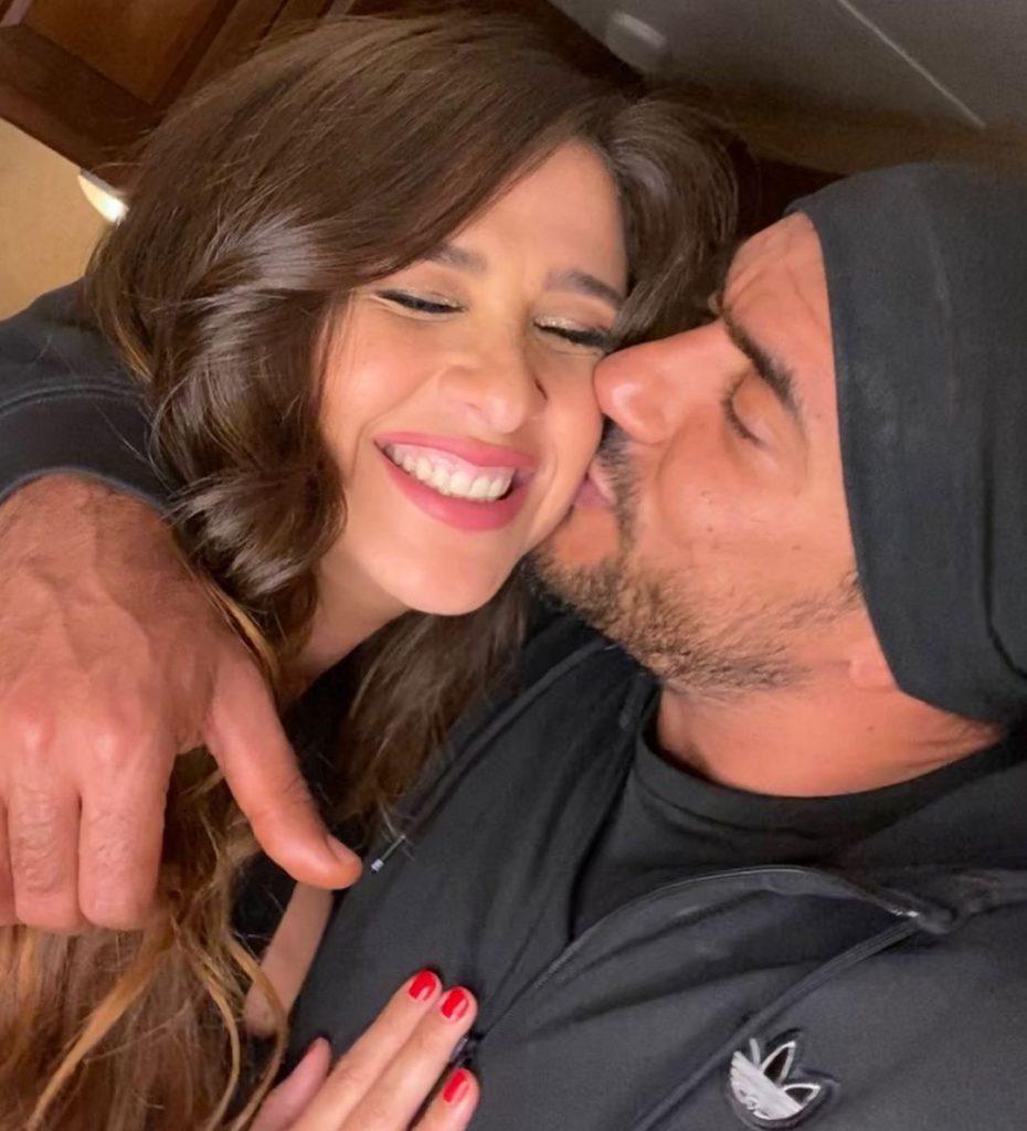 Yasmine Abdel Aziz and Ahmed El-Awady